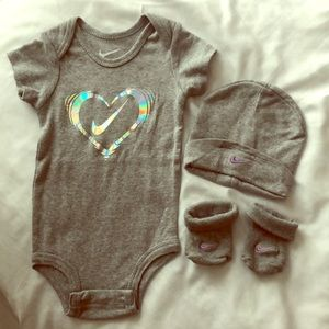 Baby 3 piece set. Washed but never worn. NWOT